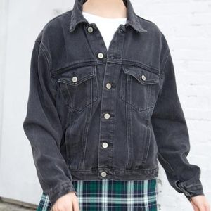 Brandy Melville black denim jacket